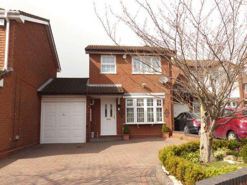 3 Bedrooms Detached House for sale in Whittleford Grove, Birmingham