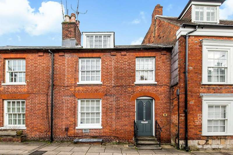 4 Bedrooms Terraced House for sale in Canon Street, Winchester, SO23