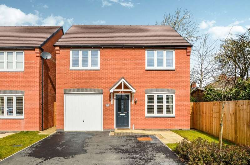 4 Bedrooms Detached House for sale in Academy Drive, Hillmorton, Rugby