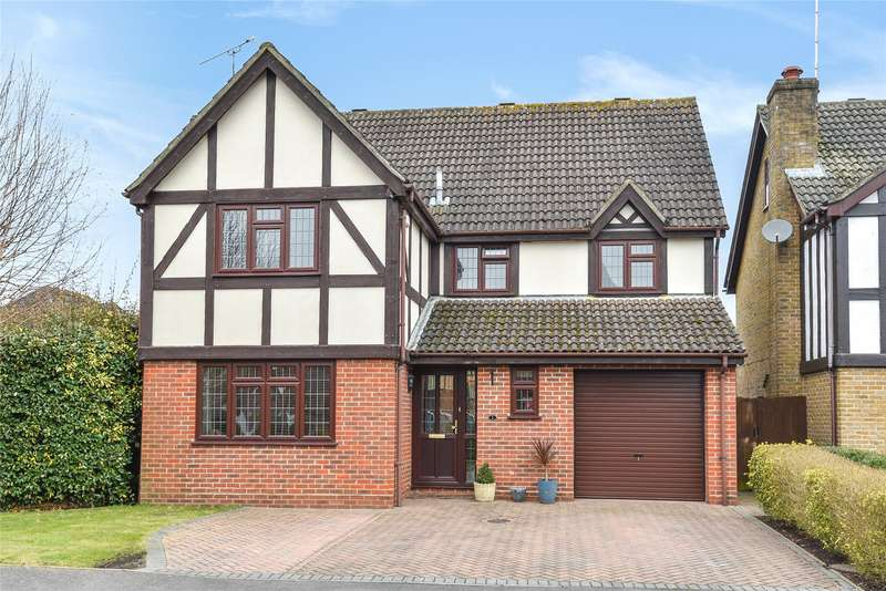 4 Bedrooms Detached House for sale in Turner Place, College Town, Sandhurst, Berkshire, GU47