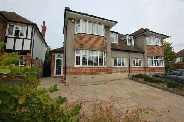 5 Bedrooms Semi Detached House for sale in Hayes Hill Road, BROMLEY, Kent