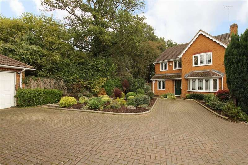 4 Bedrooms Detached House for sale in Vicarage Wood Way, Tilehurst, Reading, RG31
