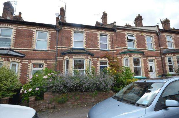 3 Bedrooms Terraced House for sale in St Annes Road, Mount Pleasant, Exeter, Devon