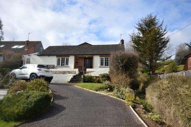 3 Bedrooms Detached Bungalow for sale in Pocombe Bridge, Exeter, Devon