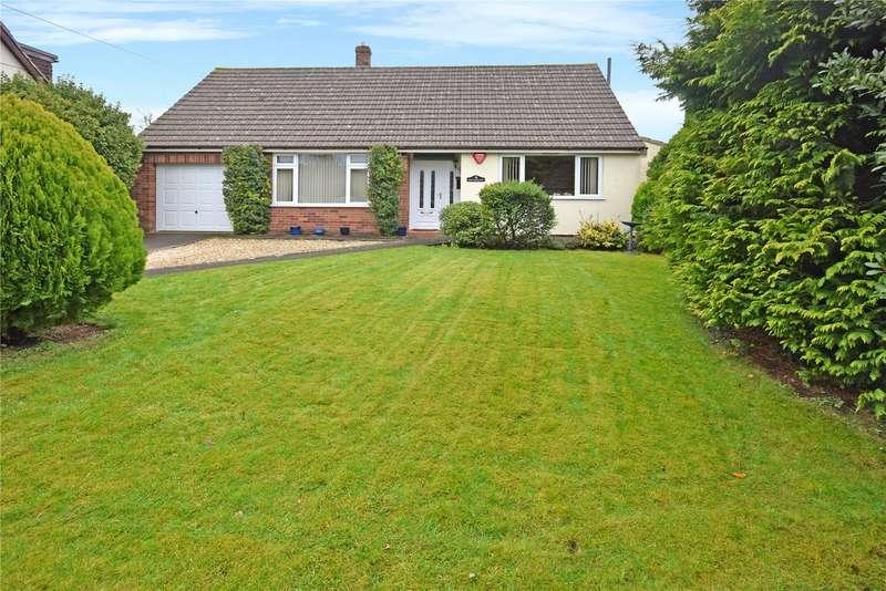4 Bedrooms Detached Bungalow for sale in Coxley Wick, Wells, Somerset, BA5