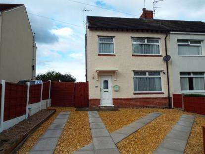 3 Bedrooms Semi Detached House for sale in Minshull New Road, Crewe, Cheshire