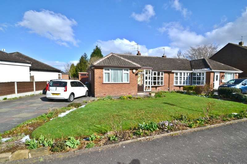 3 Bedrooms Semi Detached Bungalow for sale in Silverdale Road, Gatley