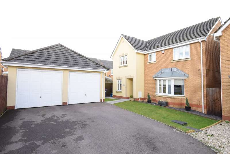 4 Bedrooms Detached House for sale in Churchwood , Griffithstown , PONTYPOOL, NP4