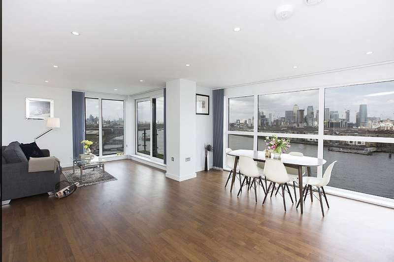 2 Bedrooms Apartment Flat for sale in Knights Tower, 14 Wharf Street, 11th floor, London, London, SE8 3FX
