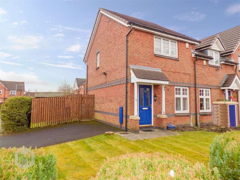 2 Bedrooms Semi Detached House for sale in Dixon Green Drive, Farnworth, Bolton, BL4