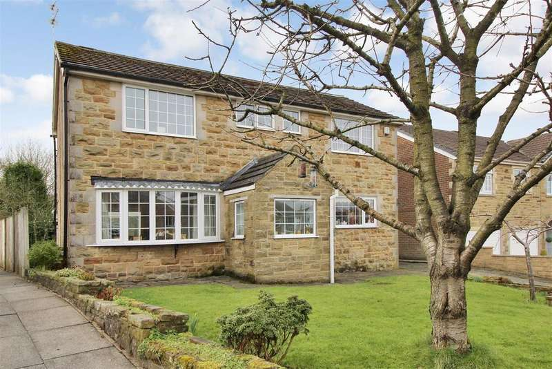 4 Bedrooms Detached House for sale in Sutton Drive, Cullingworth, Bradford