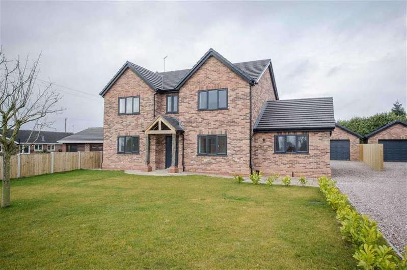 4 Bedrooms Detached House for sale in Hugmore Lane, Llan-y-Pwll, Wrexham, Llan-y-Pwll
