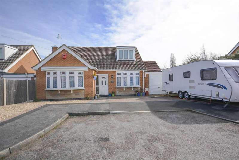 3 Bedrooms Detached Bungalow for sale in Muir Avenue, Tollerton, Nottingham