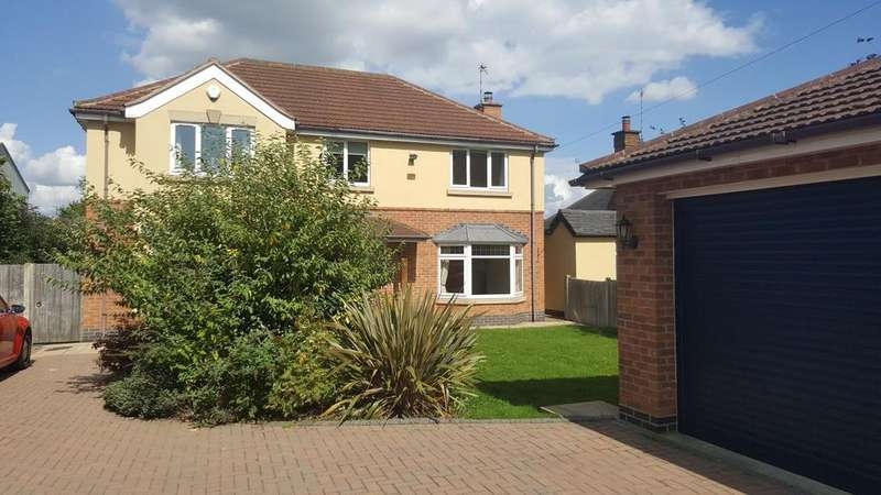 4 Bedrooms Detached House for rent in Enderby Road, Whetstone, Leicester LE8