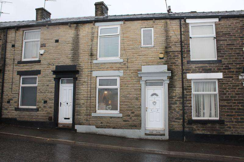 3 Bedrooms Terraced House for sale in Shaw Road, Newhey, Rochdale, OL16 4LX