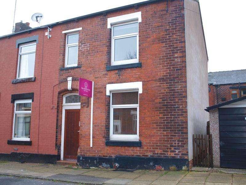 3 Bedrooms End Of Terrace House for sale in Malvern Street West, Rochdale, OL11 5EY
