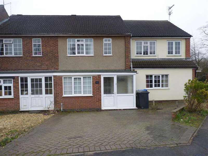 3 Bedrooms Town House for sale in Ridgeway West, Market Harborough