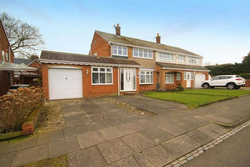 3 Bedrooms Semi Detached House for sale in Thetford Road, Fens, Hartlepool