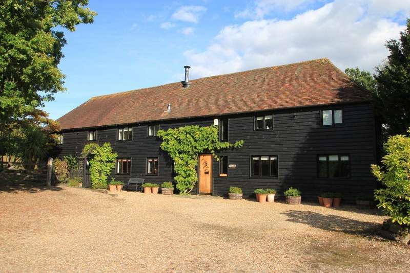 4 Bedrooms Barn Conversion Character Property for sale in Lughorse Lane, Hunton, Kent, ME15 0QU