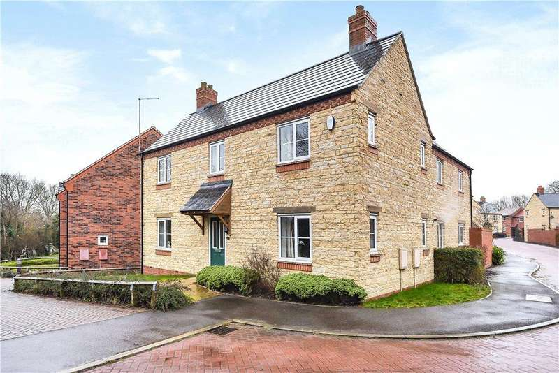 4 Bedrooms Detached House for sale in Lime Kiln Close, Silverstone, Towcester, Northamptonshire