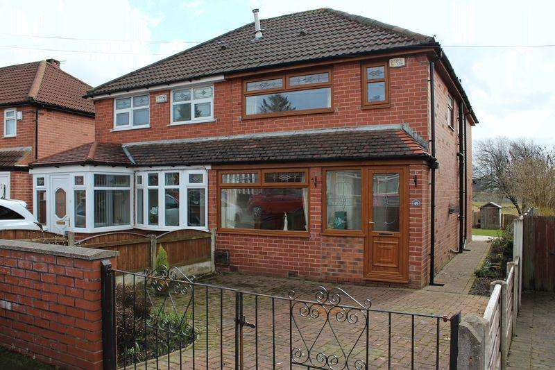 2 Bedrooms Semi Detached House for sale in Knowl Road, Firgrove, Rochdale, OL16 4BB