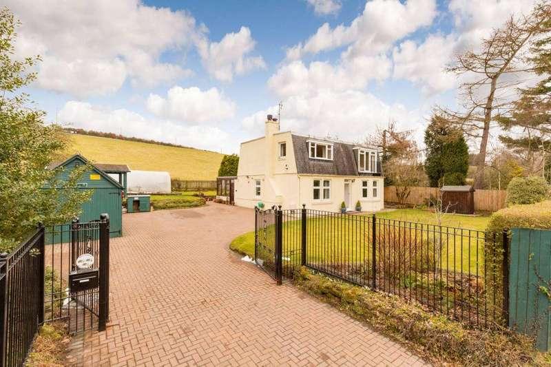 4 Bedrooms Detached House for sale in Wellsfield, Rosslyn Glen, Roslin, Midlothian, EH25 9PX