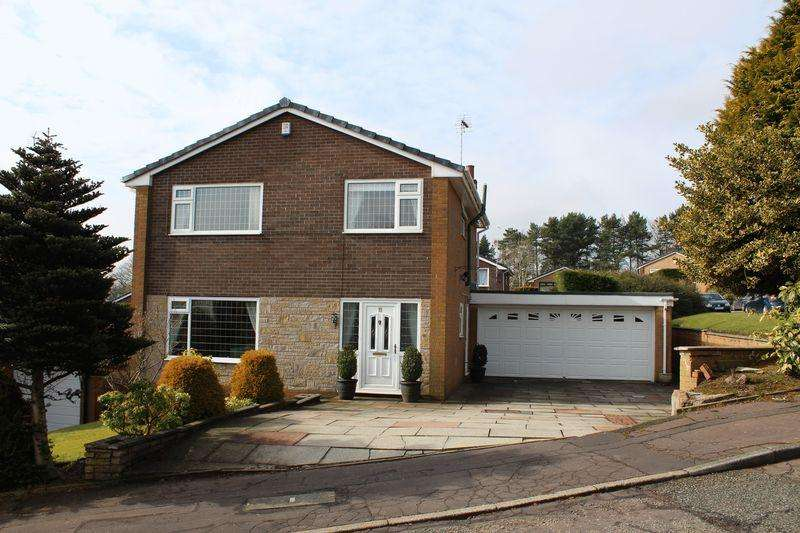 4 Bedrooms Detached House for sale in Heald Drive, Shawclough, Rochdale, OL12 7HH