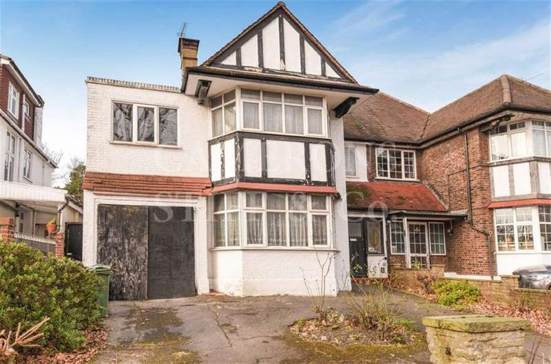 4 Bedrooms Semi Detached House for sale in The Avenue, Brondesbury Park, London, NW6