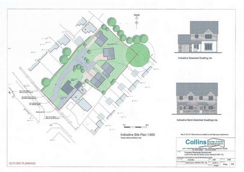 3 Bedrooms Land Commercial for sale in Gorsty Lane, Hereford
