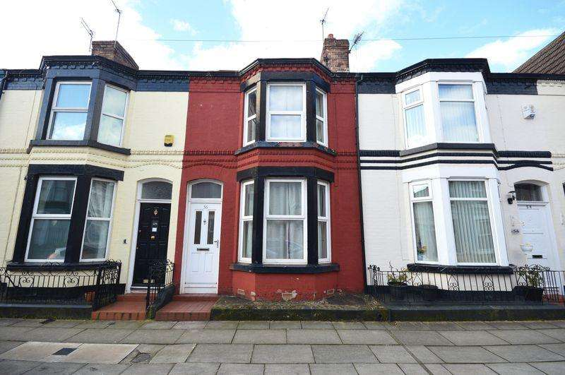 2 Bedrooms Terraced House for sale in Alverstone Road, Mossley Hill