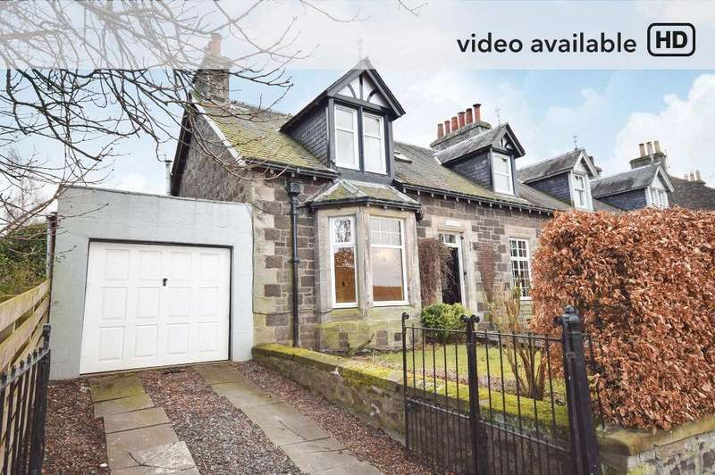 4 Bedrooms Semi-detached Villa House for sale in Back Dykes, Abernethy, Perthshire, PH2 9JN