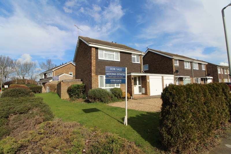 3 Bedrooms Detached House for sale in Byron Drive, Newport Pagnell, Buckinghamshire