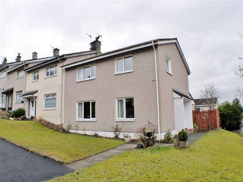 4 Bedrooms End Of Terrace House for sale in Flinders Place, Westwood, EAST KILBRIDE
