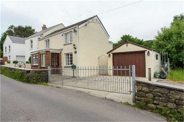 3 Bedrooms Detached House for sale in Cae Mansel Road, Three Crosses, Swansea, West Glamorgan