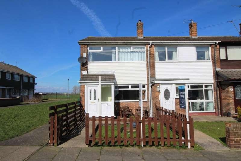 3 Bedrooms Terraced House for sale in Cloverhill, Fellgate, Jarrow, NE32