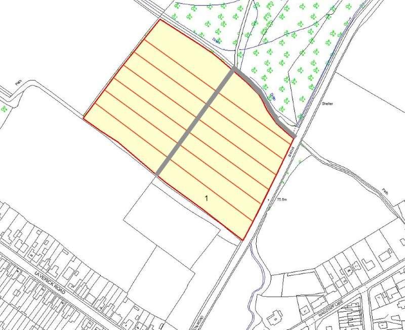 Land Commercial for sale in Plot 1, Selston Road, Jacksdale, Nottingham, Nottinghamshire, NG16 5HL