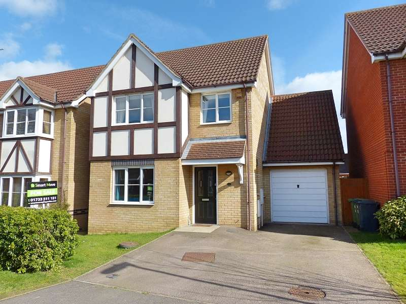 4 Bedrooms Detached House for sale in Baird Close, Yaxley, Peterborough, Cambridgeshire. PE7 3GB