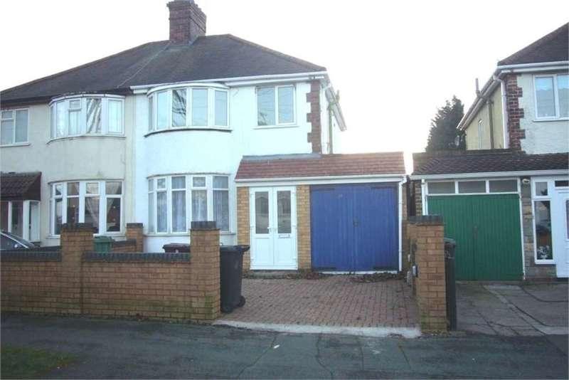 3 Bedrooms Semi Detached House for sale in 34 Norbury Road, Wolverhampton, West Midlands, WV10 9RL