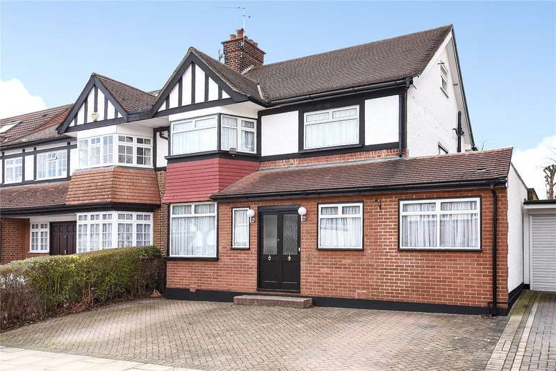 5 Bedrooms Semi Detached House for sale in Highview Avenue, Edgware, Middlesex, HA8