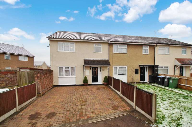 3 Bedrooms End Of Terrace House for sale in Dunlin Road, Grovehill, Hemel Hempstead