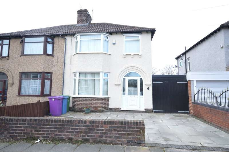 3 Bedrooms Semi Detached House for sale in Stairhaven Road, Allerton, Liverpool, L19