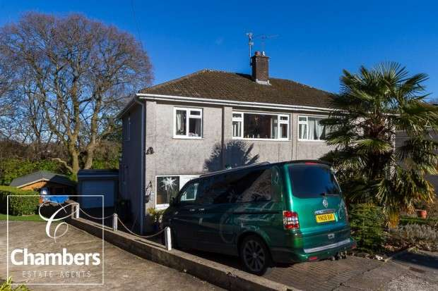 3 Bedrooms Semi Detached House for sale in Woodfield Avenue, Radyr, Cardiff, CF15