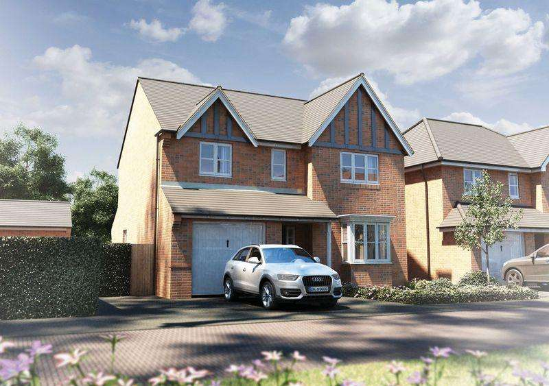 4 Bedrooms Detached House for sale in The Buckland, Alderley Gate, Congleton