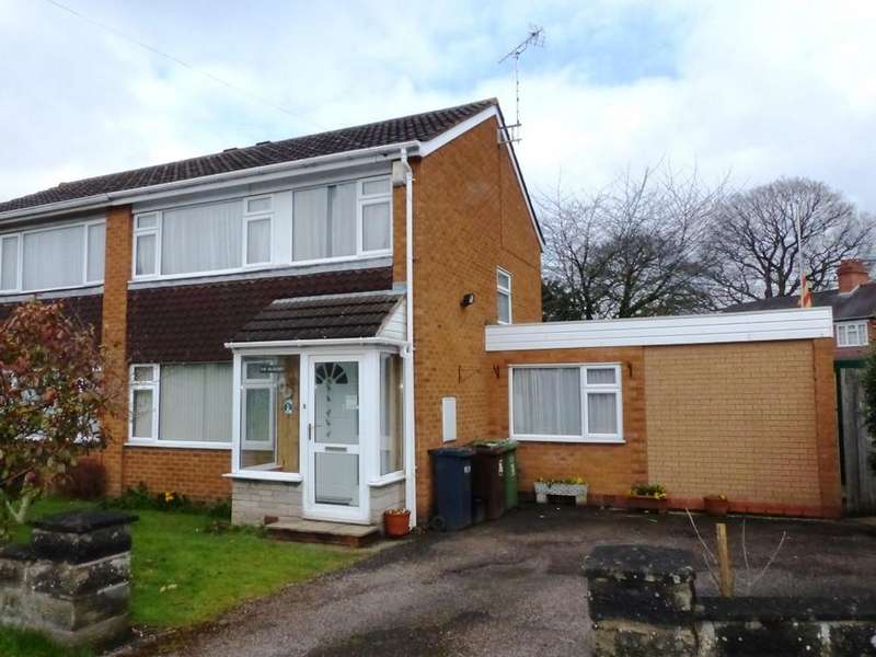 3 Bedrooms Semi Detached House for sale in Station Road, Marston Green