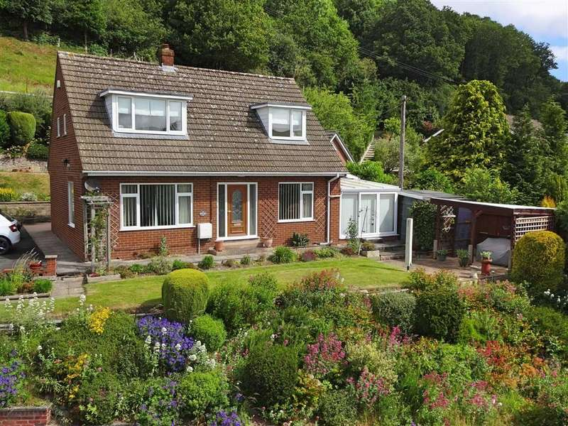 3 Bedrooms Detached House for sale in Kintara, Milford Road, Newtown, Powys, SY16