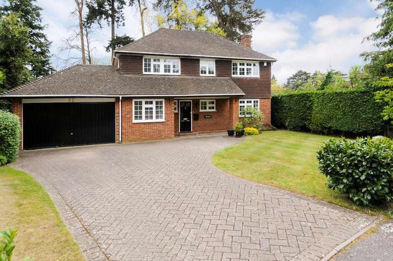 4 Bedrooms Detached House for sale in Armitage Court, Sunninghill
