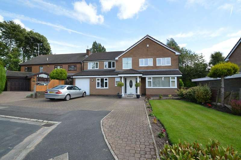 5 Bedrooms Detached House for sale in Ringley Close, Whitefield, Manchester, M45