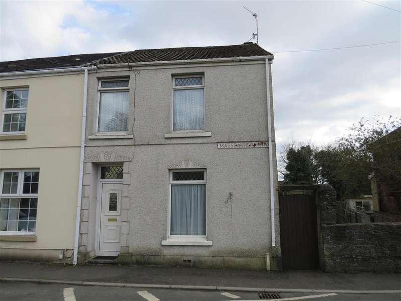 2 Bedrooms Semi Detached House for sale in Maescanner Road, Llanelli
