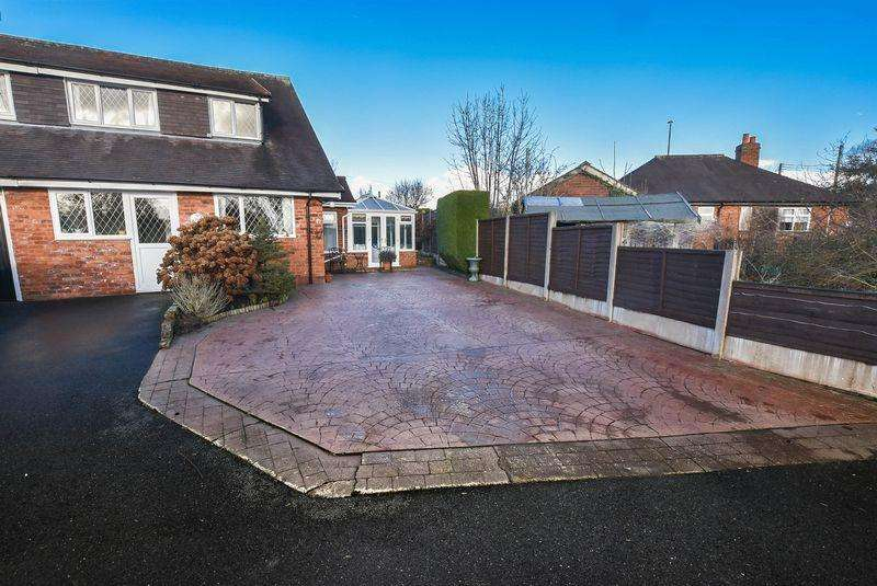 3 Bedrooms Semi Detached House for sale in Sandbach Road, Congleton, CW12 4TF