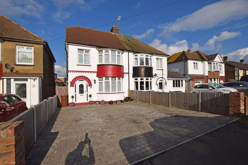 4 Bedrooms Semi Detached House for sale in Begonia Avenue, RAINHAM, ME8